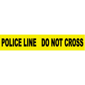 Printed Barricade Tape - Police Line Do Not Cross