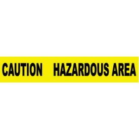 Printed Barricade Tape - Caution Hazardous Area