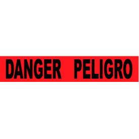 """Printed Barricade Tape - Danger Peligro, 3"""" x 1000'"""