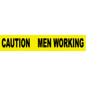 Printed Barricade Tape - Caution Men Working