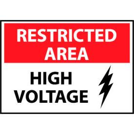 Restricted Area Aluminum - High Voltage