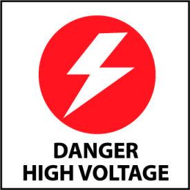 Graphic Safety Labels - Danger High Voltage