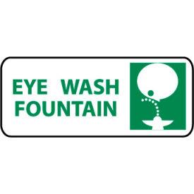 Pictorial OSHA Sign - Vinyl - Eye Wash Fountain