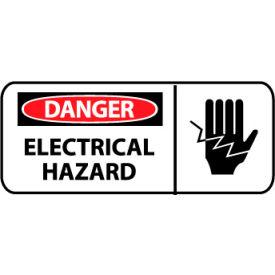 Pictorial OSHA Sign - Vinyl - Danger Electrical Hazard