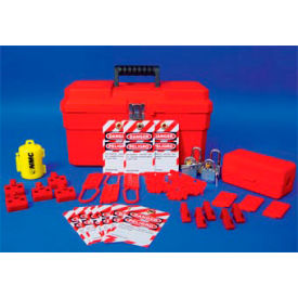 Electrical Lockout Starter Kit with Contents - Billingual