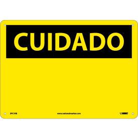 Spanish Plastic Sign - Cuidado Blank