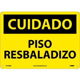 Spanish Plastic Sign - Cuidado Piso Resbaladizo
