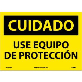 Spanish Vinyl Sign - Cuidado Use Equipo De Proteccion
