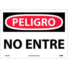 Spanish Vinyl Sign - Peligro No Entre