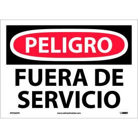 Spanish Vinyl Sign - Peligro Fuera De Servicio