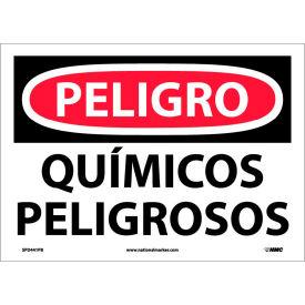 Spanish Vinyl Sign - Peligro Quimicos Peligrosos