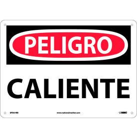 Spanish Plastic Sign - Peligro Caliente