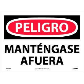 Spanish Vinyl Sign - Peligro Manténgase Afuera