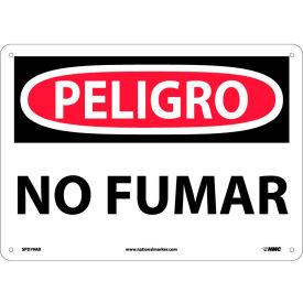 Spanish Aluminum Sign - Peligro No Fumar