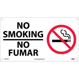 Bilingual Plastic Sign - No Smoking