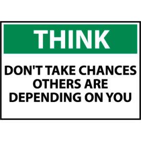 Think Osha 10x14 Aluminum - Don't Take Chances