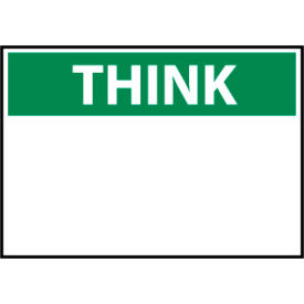 Think Osha 10x14 Vinyl - Heading Only