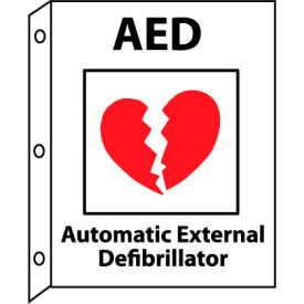 Facility Flange Sign - AED