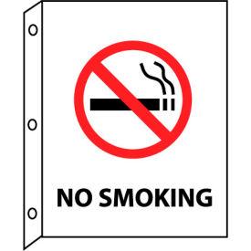 Fire Flange Sign - No Smoking