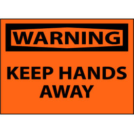 Machine Labels - Warning Keep Hands Away