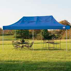 10x20 Popup Canopy - Blue Cover