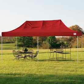 10x20 Popup Canopy - Red Cover