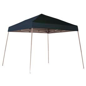 ShelterLogic 10x10 S L Popup Canopy - Black Cover w/Roller Bag
