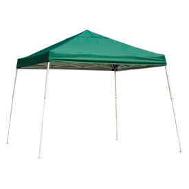 12x12 S L Popup Canopy - Green Cover w/Black Roller Bag
