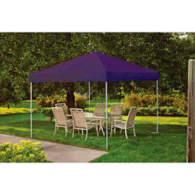 ShelterLogic, 22703, Pro Pop-up Canopy Straight Leg Cover 10 ft. x 10ft. Purple