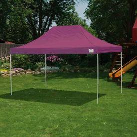 ShelterLogic 22704 Pop-up Canopy-Straight Leg, 10 x 15, Purple