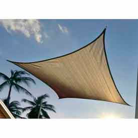 16 Foot Square ShadeSail - Sand