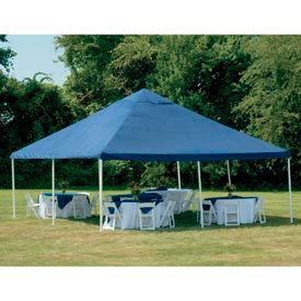 "Shelterlogic Celebration Canopy 25797, Decorative Series, 20'W X 20'L, 2"" Frame, 8-Leg, Blue"