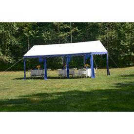ShelterLogic, 25888, Party Tent 9-11/16 ft. x 19-5/8 ft Blue/White