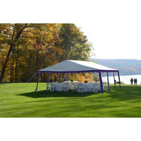 ShelterLogic, 25918, Party Tent 9-11/16 ft x 9-11/16 Blue/White