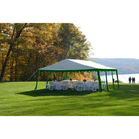 ShelterLogic, 25919, Party Tent 9-11/16 ft x 9-11/16 ft , Green/White