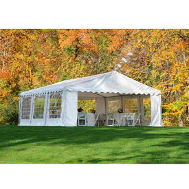 ShelterLogic, 25920, Party Tent & Enclosure Kit 20 ft x 20 ft White