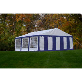 ShelterLogic, 25928, Enclosure Kit with Windows for Party Tent 19-5/8 x19-5/8 ft , Blue/White,