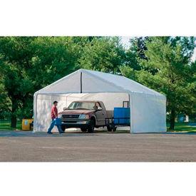 ShelterLogic, 26180, White Canopy Enclosure Kit FR Rated 18 ft x 40 ft