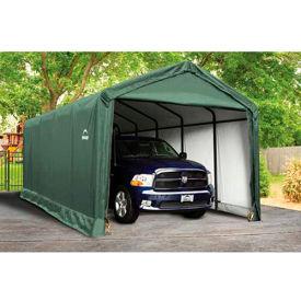ShelterLogic, 62810, ShelterTube 12 ft x 25 ft x 11 ft. Peak Style Garage/Shelter- Green