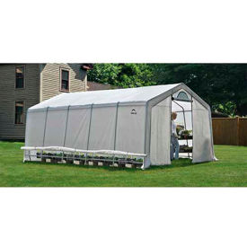 ShelterLogic, 70590, GrowIt Heavy Duty Walk-Thru Greenhouse Peak-Style 12 ft. x 20 ft. x 8 ft.