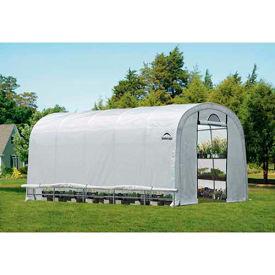 ShelterLogic, 70592, GrowIt Heavy Duty Walk-Thru Greenhouse Round-Style 12 ft. x 20 ft. x 8 ft.