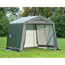 8x12x8 Peak Style Shelter - Grey