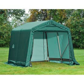 8x12x8 Peak Style Shelter - Green