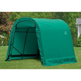 8x16x8 Round Style Shelter - Green