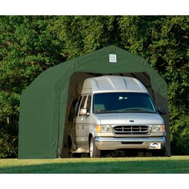 ShelterLogic Barn Style Shelter 12' x 28' x 11' Green