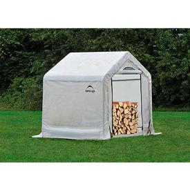 ShelterLogic, 90395, Firewood Seasoning Shed 5 x 3-1/2 x 5 ft.