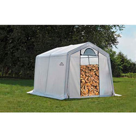 ShelterLogic, 90396, Firewood Seasoning Shed 10 x 10 x 8 ft.