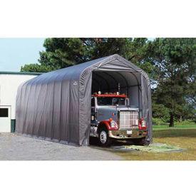 ShelterLogic, 95350, Peak Style Shelter 14 x ft. 20 x ft. 12 ft. Gray