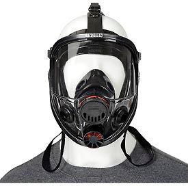 North 7600 Series Silicone Full Facepiece Respirators, 760008A