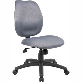Task Chair Without Arms Gray